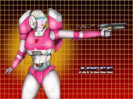G1 Arcee by Lady-Elita-1