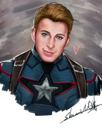 Captain America by sherrill018