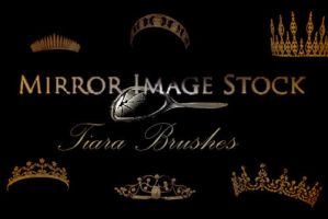 Crown and Tiara Brushes by mirrorimagestock
