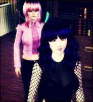 New Sim and Her Guest by Girfactor