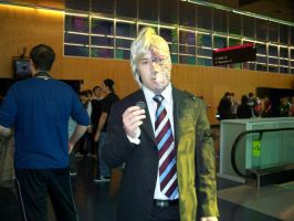 Two-Face - Comic Con 2012 by J25TheArcKing