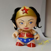 Wonder Woman -- Munny Edition2 by daveizoid