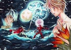 the vision of escaflowne by AiriChanART
