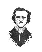 Edgar Allan Poe by Bluecrow10