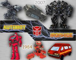 Autobot Ironhide Comparative by LittleBigDave