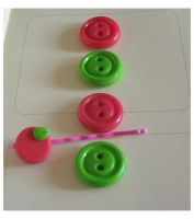 Cute Fimo button set by yen-hm