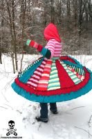 mad tea party sweater coat by smarmy-clothes
