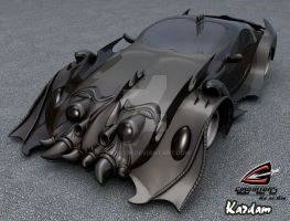 fantasy car by kardam