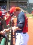 Getting A Baseball Player Autograph by TheWizardofOzzy