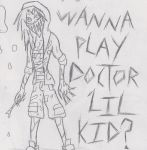 Late Night Sketch Of The Surgeon by psycholiger13