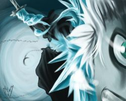 Hitsugaya Attacks NEW VERSION by Jeternity