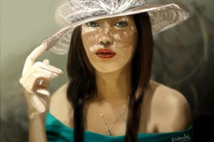 Photo Study portrait by Wolkenfels