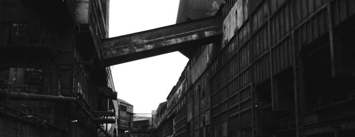 Metal factory by Knald