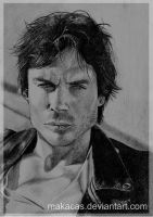 Ian Somerhalder by Makacas