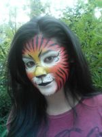 Facepaint - Tiger by j-deo