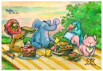 animal picnic by goamerica