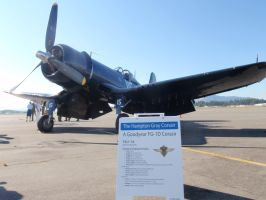 FG-1D - Corsair displayed by DISC-Photography