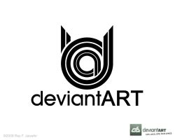 Deviant Art Logo 11 reyj by reyjdesigns