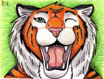 Smile for camera .:ACEO:. by BlackRayser