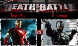 Iron Man vs Robocop by SonicPal