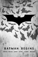 batman begins movie poster by hfa18