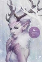 Reindeer Princess by Artgerm