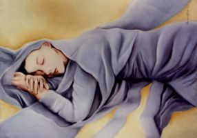 Violet Sleep by jodyharrington