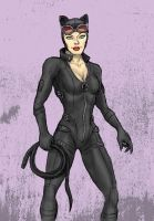 Catwoman - Gotham's Feisty Cat Burglar by MattFriesen
