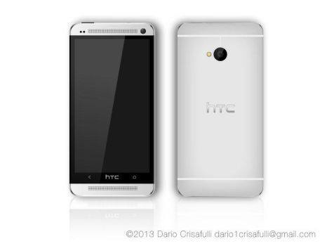 Htc one vector (silver) by Dario1crisafulli