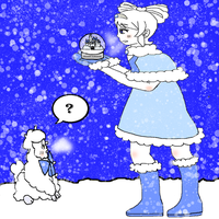 Ophia, Nana, and The Snow Globe by PacificIslanderGirl