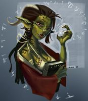 Hypatia the Green Imp by Jennysmonsters