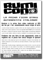 Rumicon2005 flyer by Meow-chi