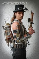Steampunk outfit by steamworker