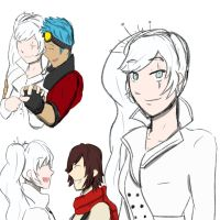 Weiss Scribblescolor by Jo3mm