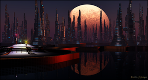 Floating City by jbjdesigns