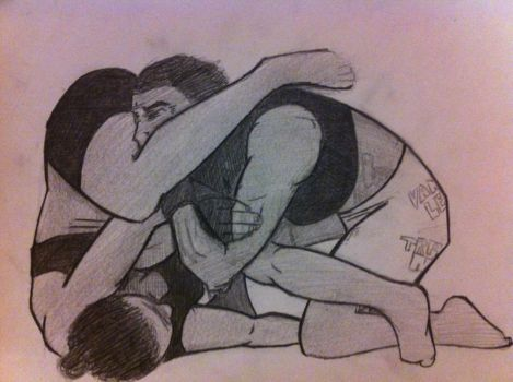 Rowdy Ronda Rousey Armbar Setup by The-Iron-Enemy