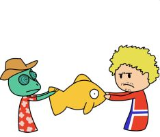 Rango vs Norway by DoogieRace