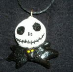 Jack Skellington necklace by TheSciFiArtisan