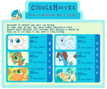 Pony Comissions Price Chart for CuddleHooves by Hourglass-Sands