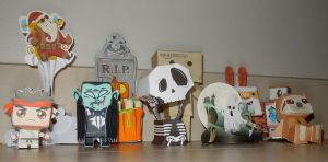 all my papertoys by leoleolef