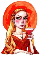 Cersei Lannister by rynarts