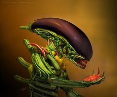 Alien food by rrdrigo
