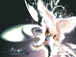 Aion : Elyos Wallpaper II by sHao-taisa