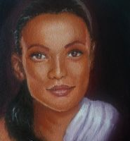 This was the first oil portrait by magicalmermaidcat