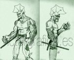 Savage Dragon by victorgrafico