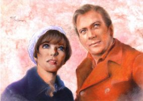 Edith and Kirk by Emushi