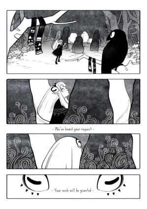 The woods of the occult - page 03 by Rozenng