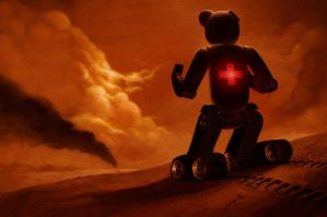 Bearbot I by AdamHunterPeck