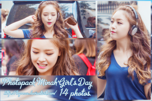 PHOTOPACK GIRLS DAY #11 (MINAH) by byunce