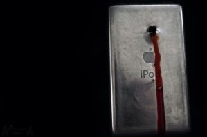 Suicide Of a Ipod by morbidmind6